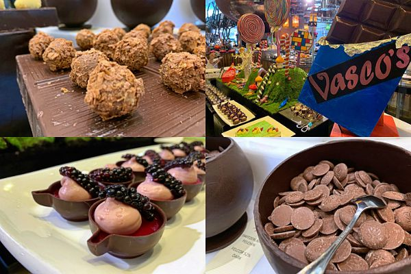 Vasco's buffet sinfully delights with Chocolate Factory during August at Hilton KL