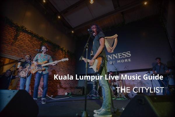 Kuala Lumpur Live Music Guide 29 January 2020