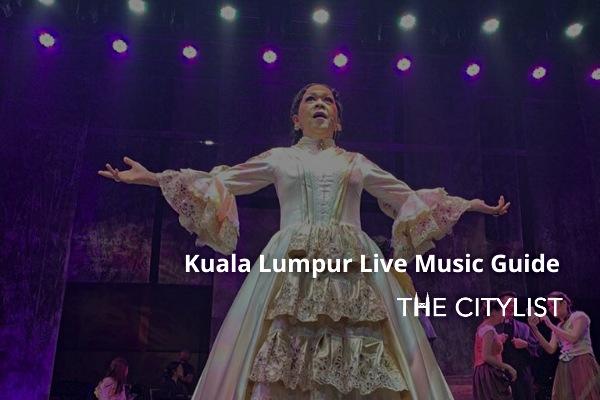Kuala Lumpur Live Music Guide 11 March 2020