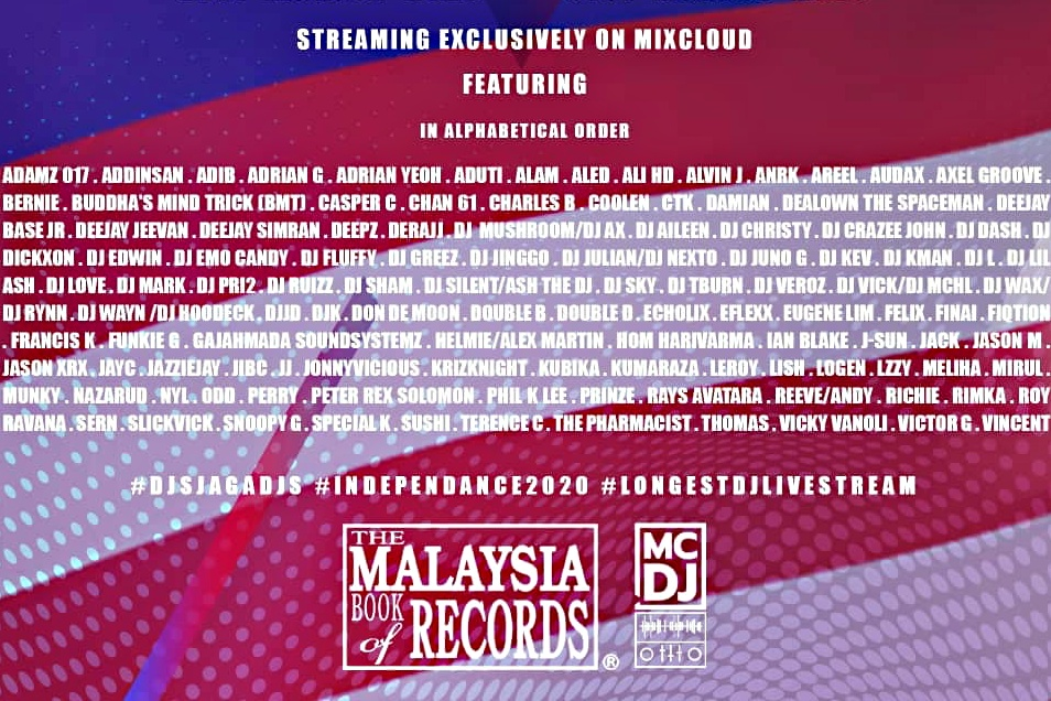 Malaysia's record breaking Independance 2020 to re-stream 2 August 2021