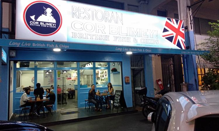 Cor Blimey Damansara Uptown Review