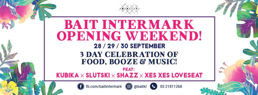 BAIT open's second outlet at Intermark Mall with a 3 day celebration