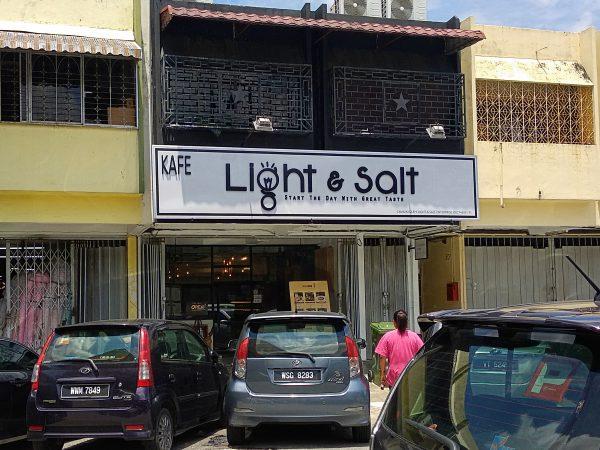 Light and Salt Cafe Taman Goodwood Review