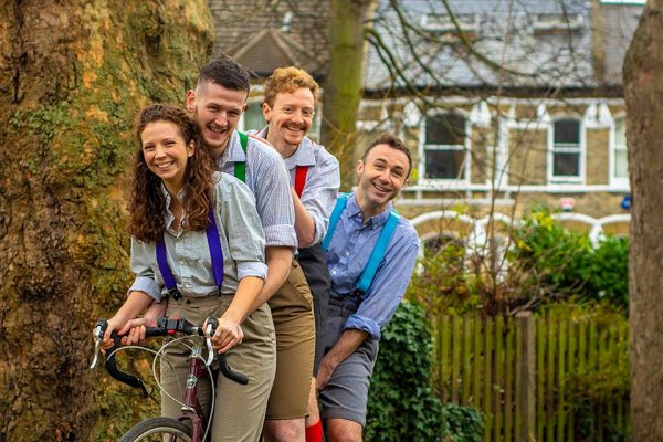 HandleBards Cycling Theatre performs Twelfth Night at the PJ Live Arts 14-20 February 2019