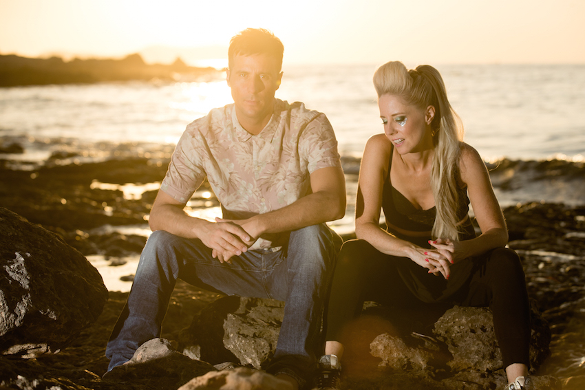 Lovely Laura and Ben Santiago at Marini's on 57 on November 24