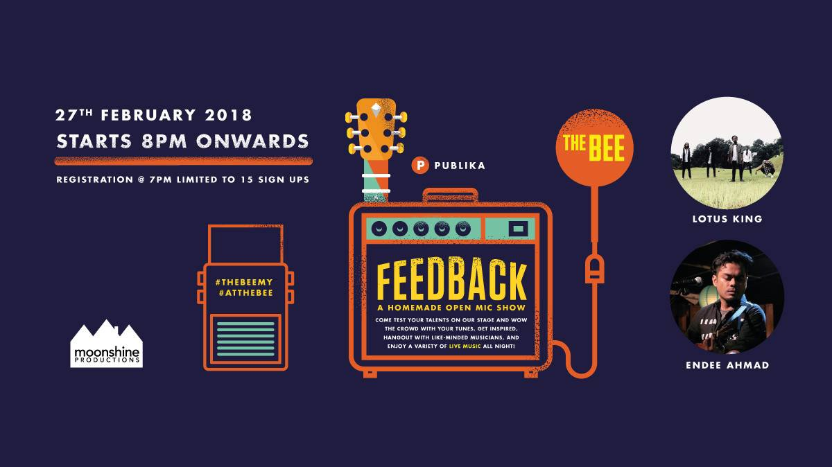 FEBRUARY 27: Feedback Open Mic featuring Lotus King and Endee Ahmad