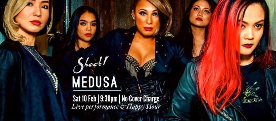 FEBRUARY 10: Medusa at Shook! Saturday Night Vibes