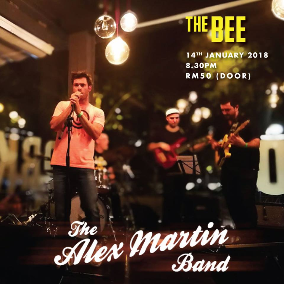 JANUARY 14 : Alex Martin Band at the Bee
