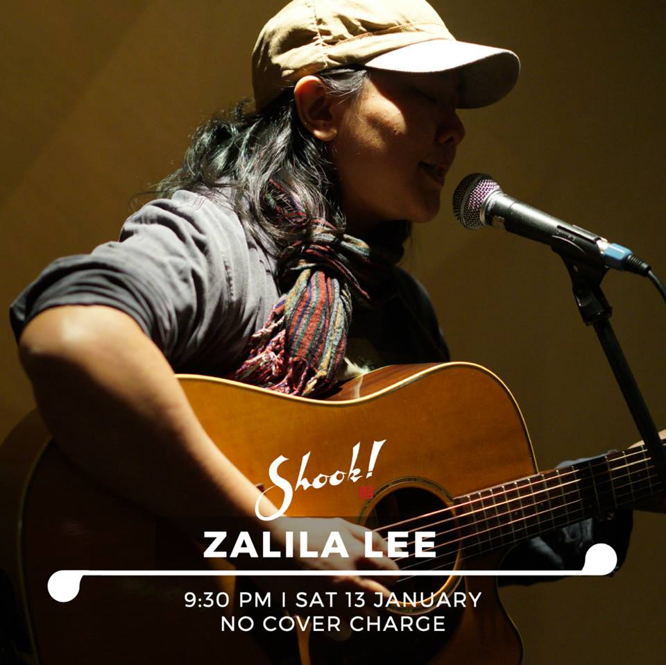 JANUARY 13 : Zalila Lee at Shook! Saturday Night Vibes