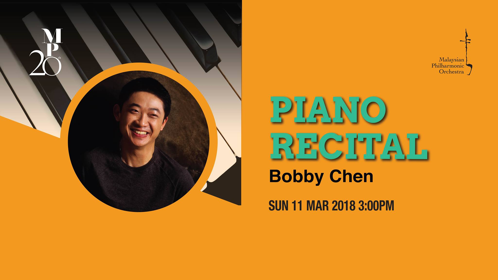 MARCH 11: Bobby Chen Piano Recital