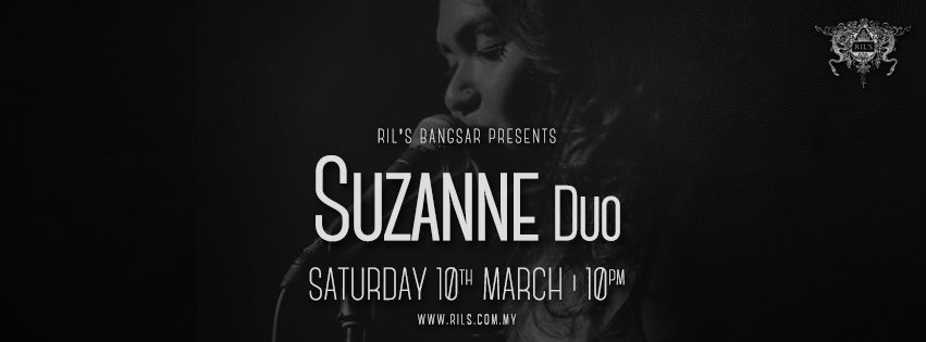 MARCH 10: Suzanne Duo live at Ril's