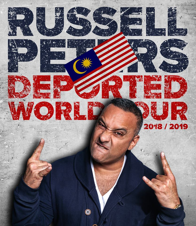 Russell Peters Announces Kuala Lumpur Tour 2018