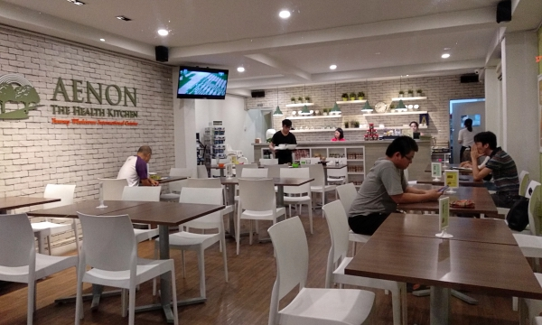 Interior of Aenon The Health Kitchen, Cheras | Kuala Lumpur Best Restaurant Review 2018
