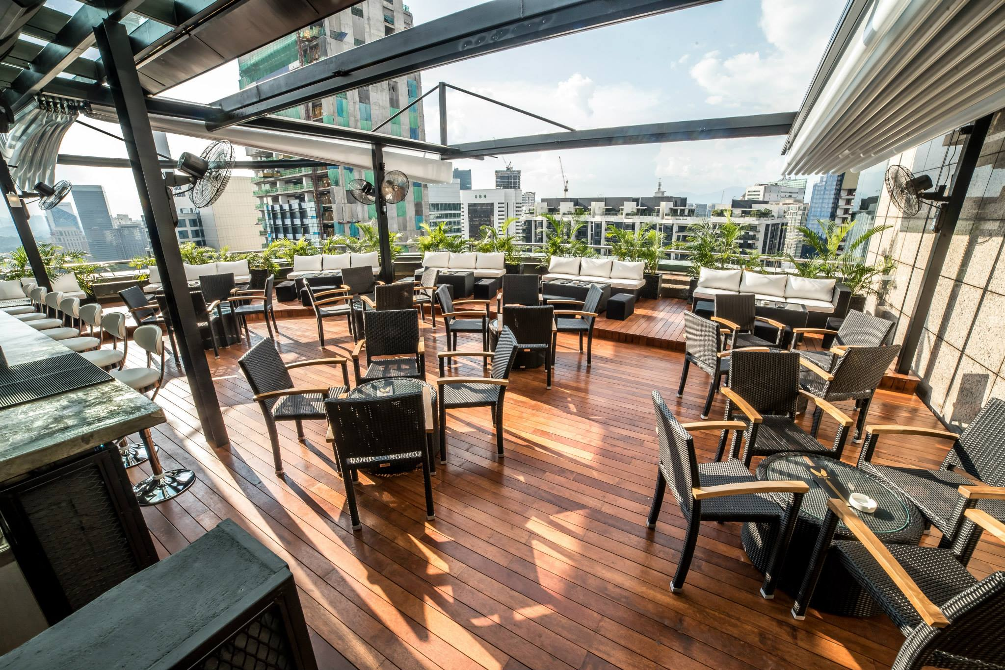 Elysium Bar & Terrace - 16 of The Best Bars to Check Out in Kuala Lumpur for 2018!