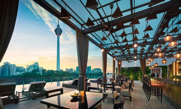 Man Tao Bar at Hotel Stripes Kuala Lumpur- Kuala Lumpur Rooftop Bars You Need To Know About In 2020! | The City List