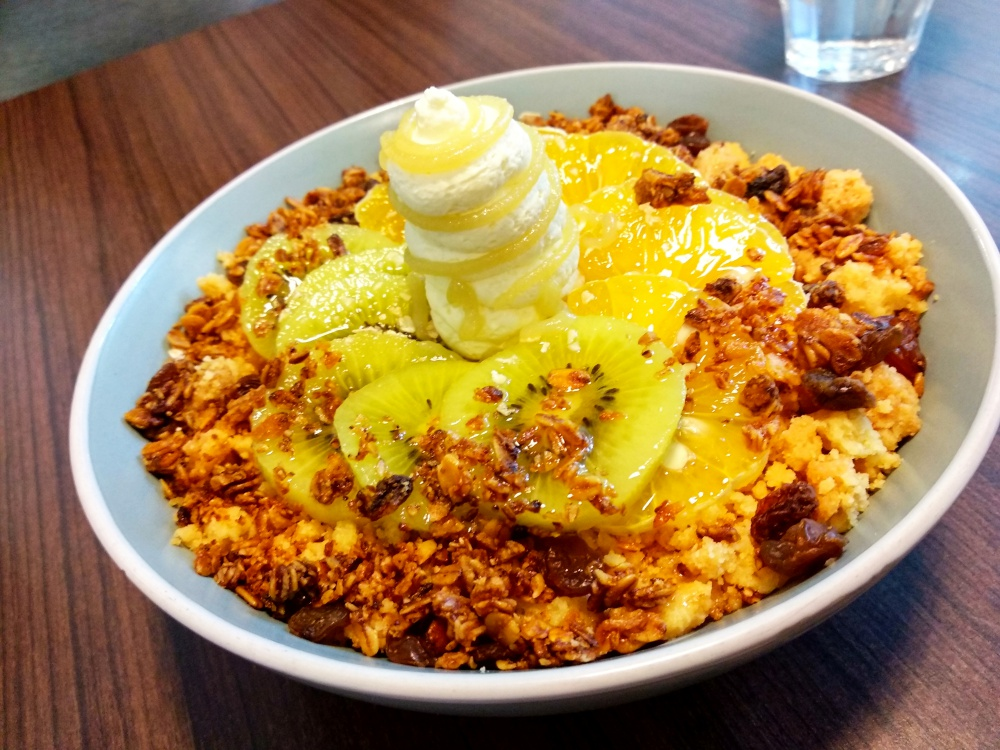 The Crusty Nest Subang Jaya Oatmeal bowl