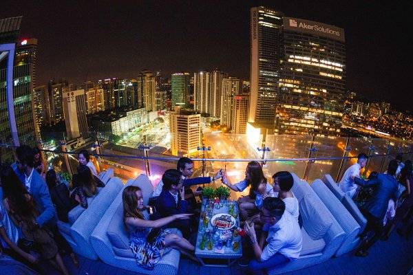 View Rooftop Bar at GTower - Jalan Tun Razak- Kuala Lumpur Rooftop Bars You Need To Know About In 2018! | The City List